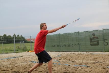 Der Bolt des Badminton.